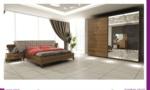 seronni mobilya / Zambak Yatak Odası Ceviz