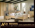 .AXA WOISS Meubelen / farklı bir tasrıma sahip akçaağaç rengi yatak odası takımı