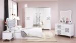 EVGÖR MOBİLYA / Beyaz Aynalı Yatak Odası