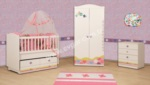 EVGÖR MOBİLYA / Prenses Bebek Odası