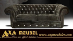 .AXA WOISS Meubelen / swarovski taşlı Chesterfield kumaş Koltuk takımı oturma grubu