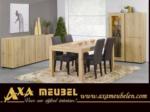 .AXA WOISS Meubelen / ahşap desenli lux yemek odası takımı