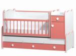 Cicila Bebe Genç Mobilyaları / BÜYÜYEN ASANSÖRLÜ BEŞİK 70X130 Ş.PEMBE