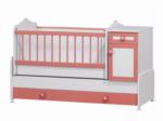 Cicila Bebe Genç Mobilyaları / BÜYÜYEN BEŞİK ASANSÖRLÜ 60x120 Ş.PEMBE