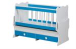 Cicila Bebe Genç Mobilyaları / İÇTEN SALLANIR BEŞİK 60X120 MAVİ