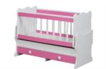 Cicila Bebe Genç Mobilyaları / İÇTEN SALLANIR BEŞİK 60X120 Ş.PEMBE
