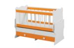 Cicila Bebe Genç Mobilyaları / İÇTEN SALLANIR BEŞİK 60X120 TURUNCU