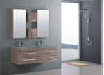 Rabelya Home Design / Bathroom-Cabinet-20159- cift kisilik