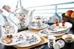 Alkapida.com Türkiye / Noble Life 38 Parça İris 6 Kişilik Porselen Kahvaltı Takımı 16431