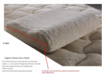 Bebek Ev Tekstili / Organic Cotton Visco Yastık