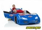 www.speedylifes.com / Speedylifes Mavi  Kapısı Açılır Araba Yatak