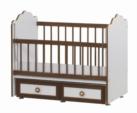 Cicila Bebe Genç Mobilyaları / ALTTAN SALLAMALI ASANSÖRLÜ BEŞİK CEVİZ