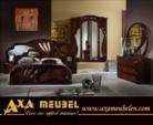 ****AXA WOISS Meubelen / italyan tarzı parlak klasik fındık rengi yatak odası