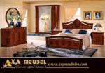 .AXA WOISS Meubelen / harika bir tasarım lux parlak klasik yatak odası takımı  58 1209