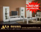 .AXA WOISS Meubelen / avangarde beyaz parlak swarovski taşlı duvar ünitesi