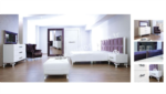 EVGÖR MOBİLYA / İnce İşlemeler Marina Avangarde Yatak Odası