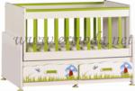 ERMODA Modüler Mobilya / Ermoda İnci Mushroom Mdfli 2Çek. 60x120 Beşik KARGO ÜCRETSİZ