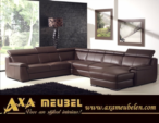 .AXA WOISS Meubelen / hem rahat hem de şık olarak tasarlanmış lux deri köşe koltuk
