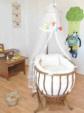 BEBEKONFOR BEŞİK MOBİLYA İMALAT & TEKSTİL  / BEBEKONFOR Dora Ceviz İtalyan Style Bebek Besik