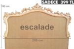 Poliüretan yatak başlıkları / Klasik yatak odası modelleri İmalattan