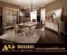 .AXA WOISS Meubelen / şahane tasarımı ile klasik parlak lüx yemek odası takımı