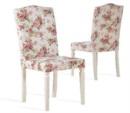 Özüçler Mobilya / Country Çiçek Desenli Sandalye