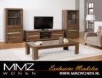 MMZ WONEN / modern italyan design kahverengi mese yapimi oturma odasi takimi