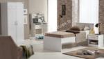 EVGÖR MOBİLYA / Filip Tasarım Genç Odası - Parlak Beyaz