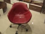 EVGÖR MOBİLYA / Kırmızı Misafir Ofis Koltuğu