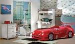 Yıldız Mobilya / Turbo Kırmızı Genç Odası