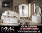 MMZ WONEN / Modern yatak odasi takimi avantgarde design - aynali dolaplar beyaz/kahverengi