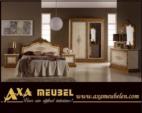 ****AXA WOISS Meubelen / italyan tarzı barok parlak bej rengi yatak odası takımı  55 7948