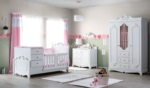 Yıldız Mobilya / Craft Country Bebek Odası Pembe