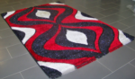 Alkapıda.com / Idol Halı Isil Koleksiyon  1691 Black/ Red