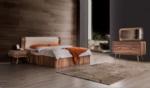 Yıldız Mobilya / Lego Ahşap Yatak Odası Ceviz