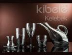 Alkapıda.com / Kibele 31 Parça Kelebek Cam Bardak Seti 648531