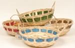 Alkapıda.com / MAEkmek Sepeti Yuvarlak Bambu 27 CM 4 renk