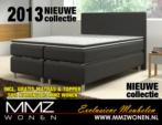 MMZ WONEN / Lux italyan design extra yuksek karyola - Yumsak top - Yatakli - siyah gri krem kahverengi