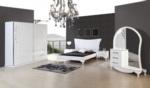 Şık Mobilya  / beyaz yatak odası