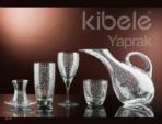 Alkapıda.com / Kibele 31 Parça Yaprak Cam Bardak Seti 317B531