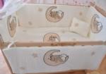 Bebekonfor bebek beşik uyku seti / ELYEZA DOĞAL TEDDY BEBEK BEŞİĞİ