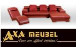 ****AXA WOISS Meubelen / farklı bir tasarıma sahip modern deri oturma grubu