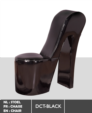 Royal Meubel & Bedden & Boxsprings / Siyah design sandelye