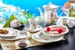 Alkapida.com Türkiye / Noble Life 38 Parça Kamelya 6 Kişilik Porselen Kahvaltı Takımı 16455