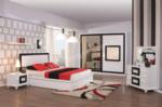 EVGÖR MOBİLYA / Bazalı Karyola Seçeneğiyle Florida Modern Yatak Odası