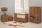 ERMODA Modüler Mobilya / Ermoda Sedef Bebek Odası 5 Parça KARGO ÜCRETSİZ