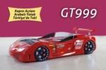 www.dekorsanal.com / Arabalı Yatak GT999 Kapısı Açılan Kırmızı