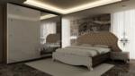 EVGÖR MOBİLYA / Taşlı Süslemeler Elisa Avangarde Yatak Odası Takımı