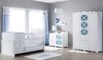 Yıldız Mobilya / Vesta Country Bebek Odası Mavi