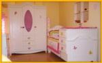 Cicibebe ve Genç Odası / Kalpli model